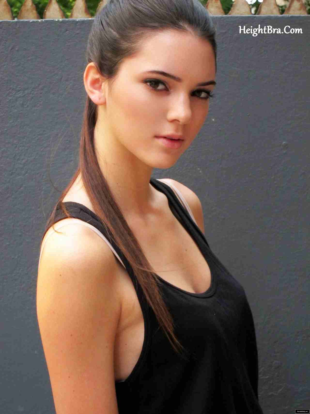 Kendall jenner height weight bra bio figure size for Model height