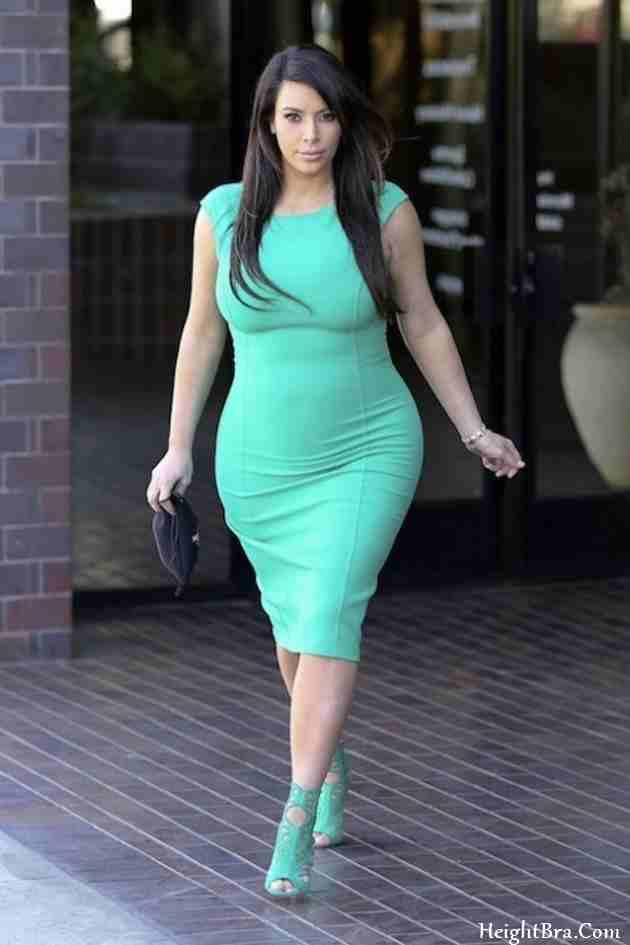 Kim Kardashian Height And Weight