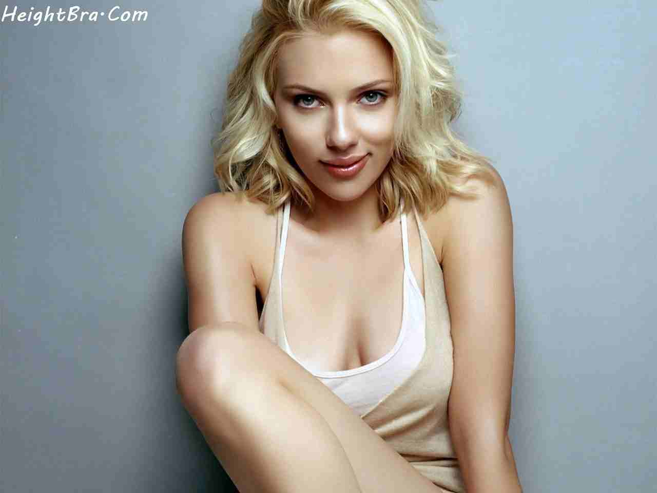 Scarlett johansson bra size criticising