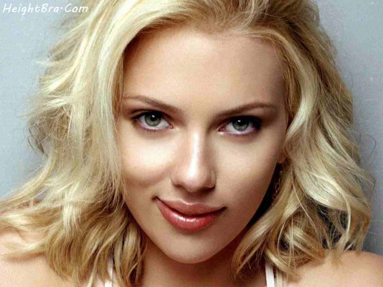 Means not scarlett johansson bra size topic all